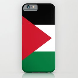 Flag of Palestine iPhone Case