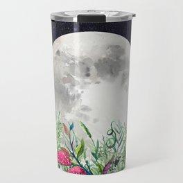 Night Garden Moon Magick Travel Mug