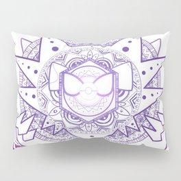 Ghost Mandala Pillow Sham