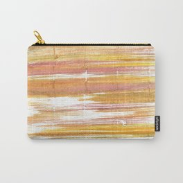 Gold abstract watercolor Carry-All Pouch