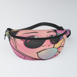 wow girl Fanny Pack