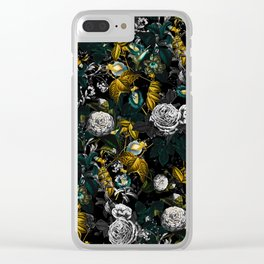 EXOTIC GARDEN - NIGHT Clear iPhone Case