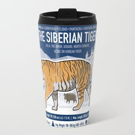 The Wild Ones: Siberian Tiger (info) Travel Mug