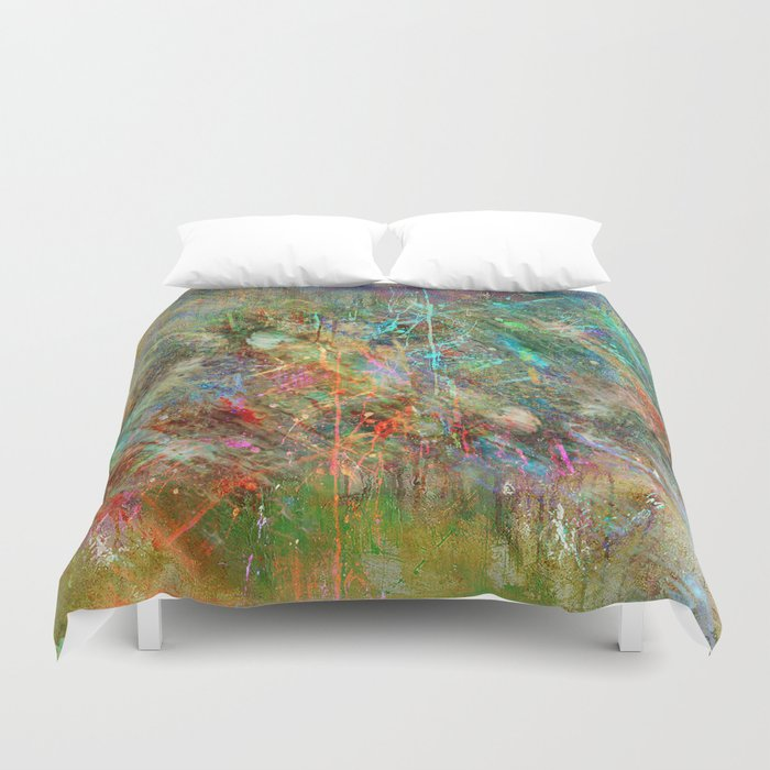 Where are you ?  Duvet Cover