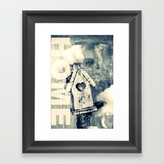 SWEET HOME - CROSS/PROCESS Framed Art Print
