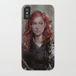 Red Temper iPhone Case