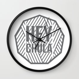Hey Chula Wall Clock