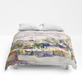 1902 - Paul Cezanne - Mont Sainte-Victoire Comforters