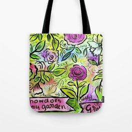 flower-riot-3 Tote Bag