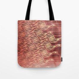 Soaring Flames Tote Bag