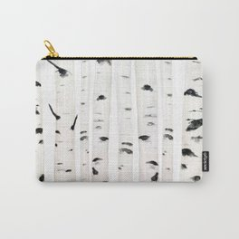 birch horizontal Carry-All Pouch