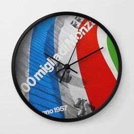 Monza 500 Wall Clock