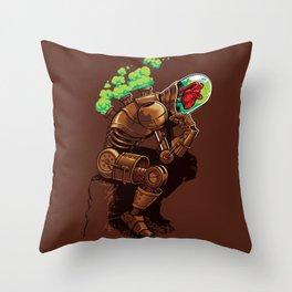 Thinker Throw Pillow