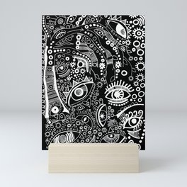 """The Watching Willow"" Mini Art Print"