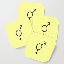 Symbol of Transgender III Coaster