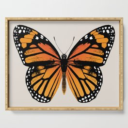 Monarch Butterfly | Vintage Butterfly | Serving Tray