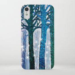 The forest of fireflies iPhone Case