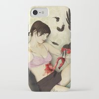 dessert iPhone & iPod Cases featuring The Dessert by keith p. rein