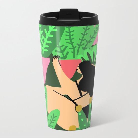My Garden Metal Travel Mug