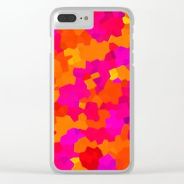 Celluloid Sunset Clear iPhone Case