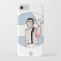 steve mcqueen iPhone & iPod Cases featuring McQueen by Dave Zissou