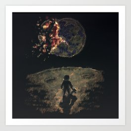 Farewell Mother Earth Art Print