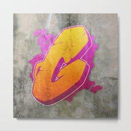 G - Graffiti letter Metal Print