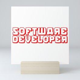 Software Developer Mini Art Print