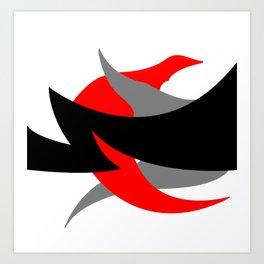 Something Abstract #1-2 Art Print