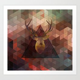 Helix & Stag 2013 Art Print