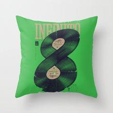 Moto Perpetuo Throw Pillow