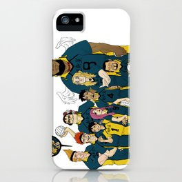 11 Supernova : VOLLEY iPhone Case