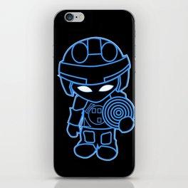 Mini Tron iPhone Skin