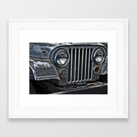 jeep Framed Art Prints featuring Jeep by Harold Naideau Photography