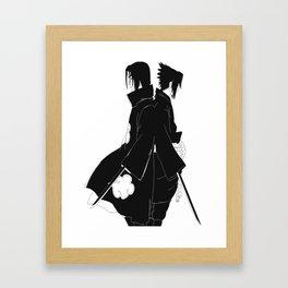 Sasuke & Itachi Framed Art Print