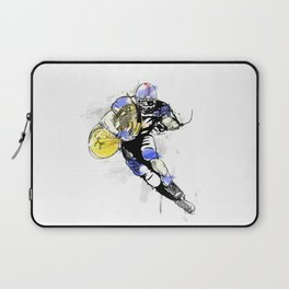French Horn Football Laptop Sleeve
