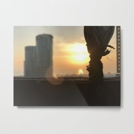 Morning Blaze - Cavite, Philippines Metal Print