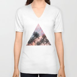 Summer Palm Tree #Society6 #Buyart #Decor Unisex V-Neck