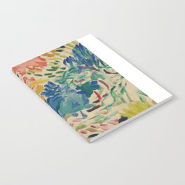 Landscape at Collioure - Henri Matisse - Exhibition Poster Notebook