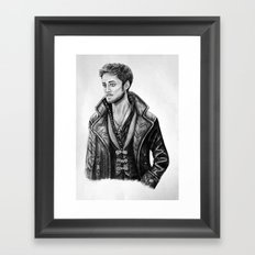 Captain Hook Framed Art Print
