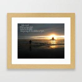Nature's Light Framed Art Print