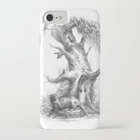 otters iPhone & iPod Cases featuring Otters by Vera Zowadova