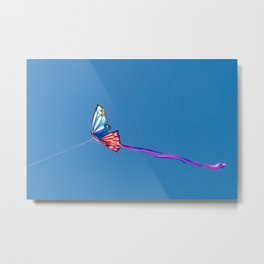 Kite Butterfly Metal Print