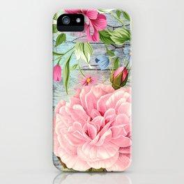 Vintage Flowers #6 iPhone Case