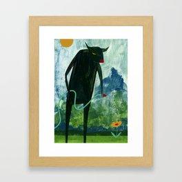 Tend The Garden Framed Art Print