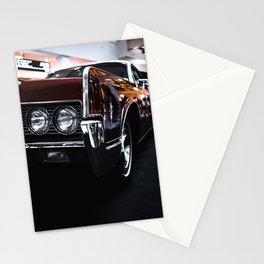 Car headlight 4 Stationery Cards