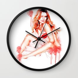 Bobshell's Away Wall Clock