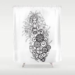 Medusa - play with me! Shower Curtain