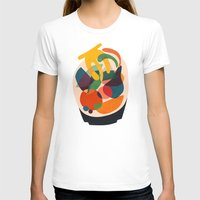 wooden T-shirts featuring Fruits in wooden bowl by Picomodi