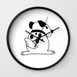 Doggie Dot Wall Clock